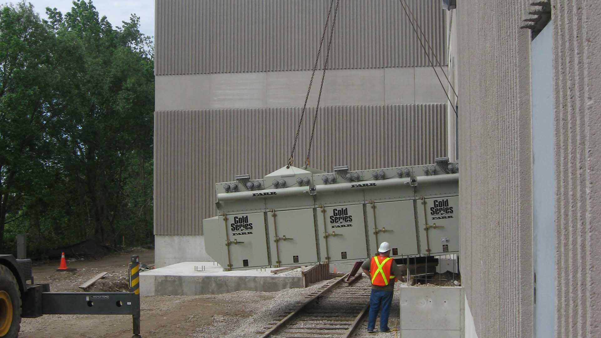 Kernic Systems installing Cold Series Equipment